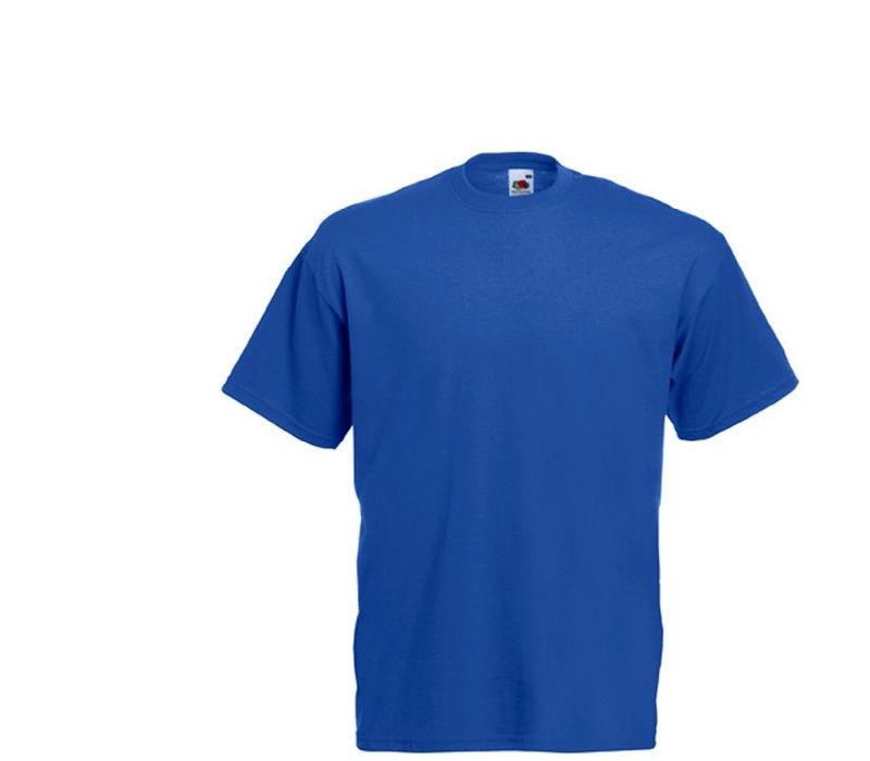 Fruit Of The Loom Tričko VALUEWEIGHT T Royal Blue