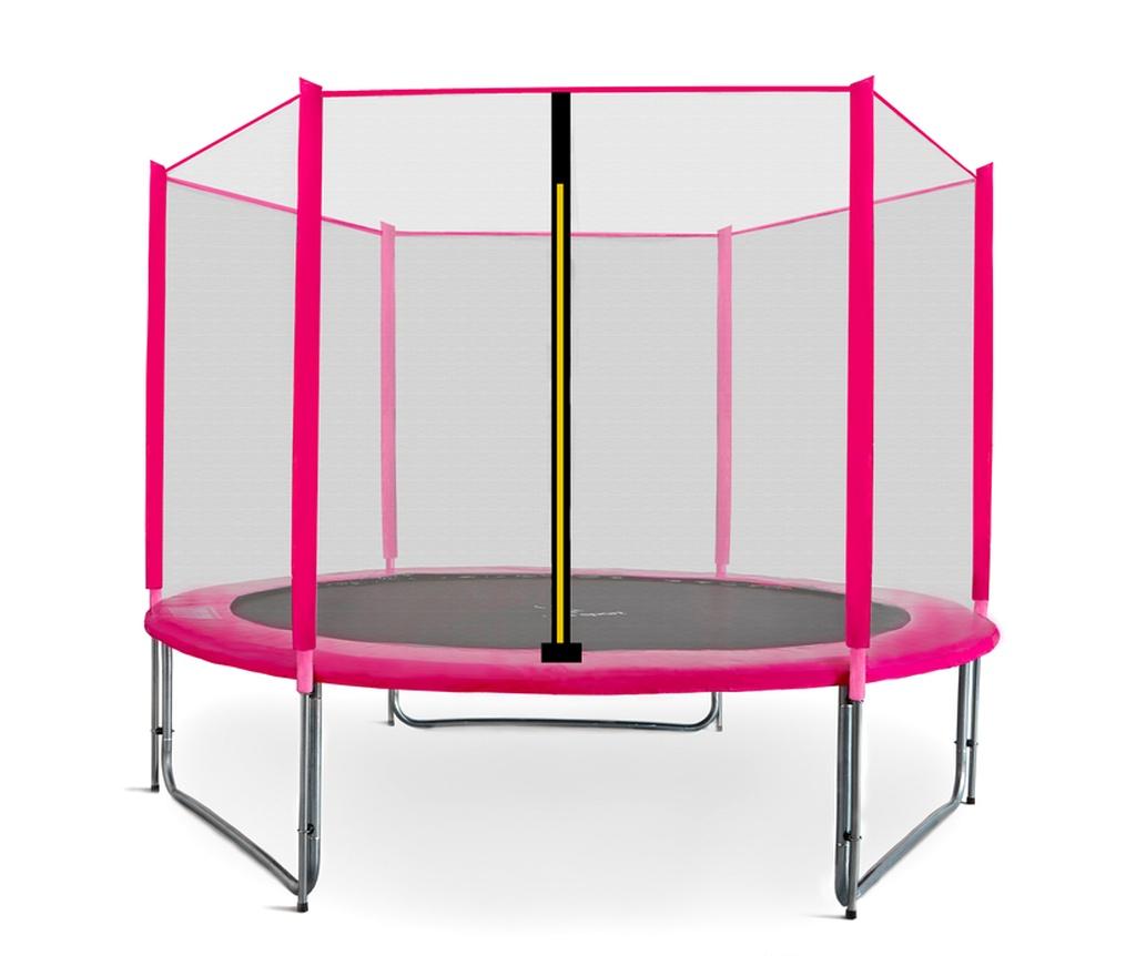 Aga SPORT PRO Trampolína 305 cm Pink + ochranná sieť 2018