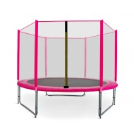 Aga SPORT PRO Trampolína 305 cm Pink + ochranná sieť