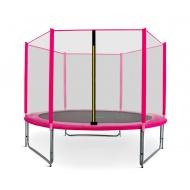 Aga SPORT PRO Trampolína 305 cm Pink + ochranná síť