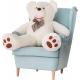 Aga4Kids Plyšový medvěd 130 cm Amigo White