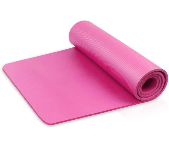 Linder Exclusiv podložka na cvičení YOGA Pink 180x60x1,5 cm
