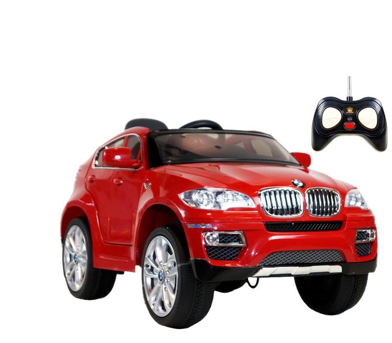 RCT Elektrické autíčko BMW X6 JJ258 12V Red