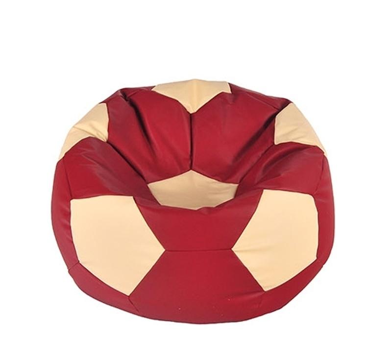 Aga Sedací vak BALL Farba: Červená - Béžová