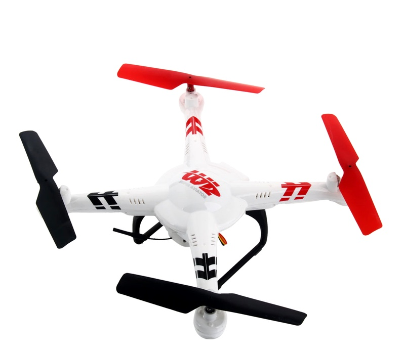 WLtoys RC Dron V686K s FPV WiFi kamerou