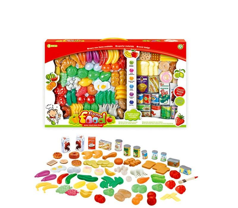 Aga4Kids élelmiszer szett FUNNY FOOD NF581-32