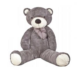 Doris Veľký plyšový medveď 130 cm Šedý