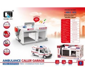 Garáž Ambulance 1:32