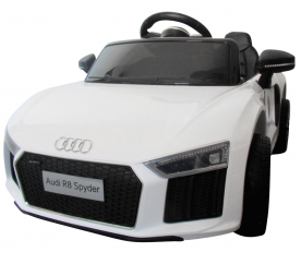 R-Sport Elektrické autíčko AUDI R8 Bílé