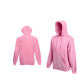 Fruit Of The Loom HOODED SWEAT Light Pink