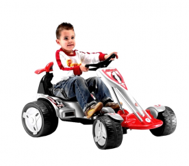 Injusa Elektrické autíčko BIG WHEELS KART ELECTRIC 12V