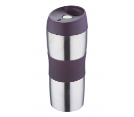 Termohrnek cestovní 450 ml, fialový - Renberg
