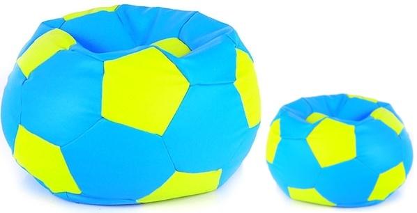 Aga Sedací vrece BALL Farba: Svetlo modrá - Zelená