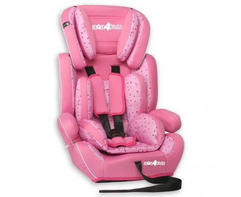 Aga4Kids Autosedačka Rose - Pink