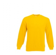Fruit Of The Loom SET-IN SWEAT Sunflower pulóver