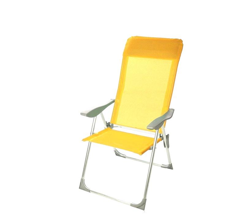 Linder Exclusiv Záhradné kreslo 5-WAY MC372211Y Yellow