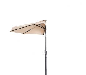 Aga Půlkruhový slunečník CLASSIC 270 cm Beige