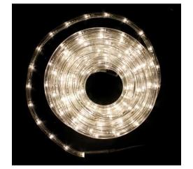 Linder Exclusiv fénykábelek 216 LED 9m meleg fehér
