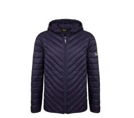 Versace 19.69 Kapucnis férfi kabát C46 Navy