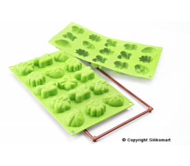 15 db szett zöld színü - 26.135.85.0063 - Silikomart