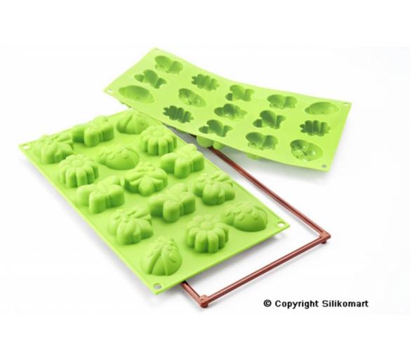 15dílná sada zelená - 26.135.85.0063 - Silikomart