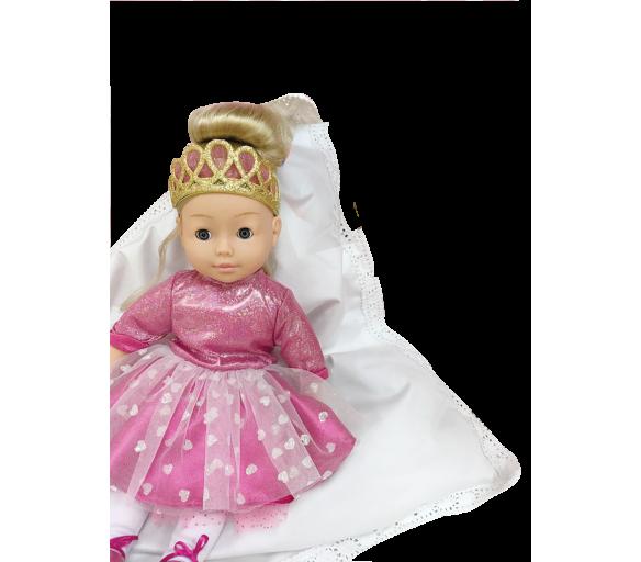 Panenka Bambolina Molly princezna se 3 písničkami