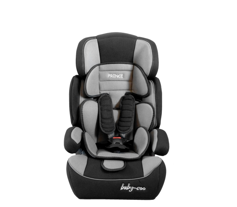 Baby Coo autosedačka PRINCE 2018 Black Grey