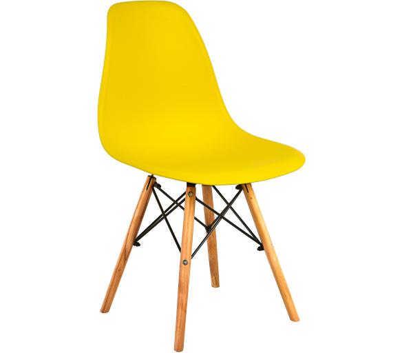 Aga Jedálenská stolička Yellow