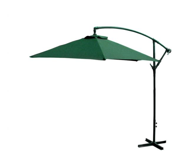 Linder Exclusiv Zahradní slunečník konzolový MC2005 300 cm Green