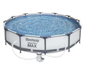 Bestway Steel Pro Frame 3,66 x 0,76 m 56416 + Kartušová filtrácia