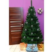 Umělý vánoční stromek - Jedle bílozelená 160 cm