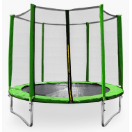 Aga SPORT PRO Trampolína 305 cm Light Green + ochranná síť