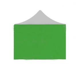 Aga oldalfal POP UP 3x4,5 m Green