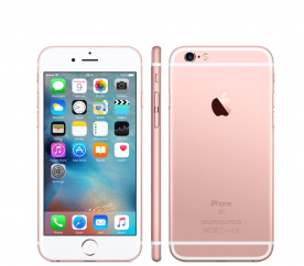 Apple iPhone 6S 32GB Rose Gold Kategorie: B