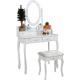 Aga Toaletní stolek se zrcadlem + taburetem MRDT03