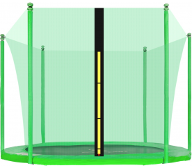 Aga belső védőháló 180 cm  6 oszlopos trambulinhoz Light Green