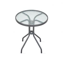 Aga Szklany stół ogrodowy MR4350DGY 70x60 cm