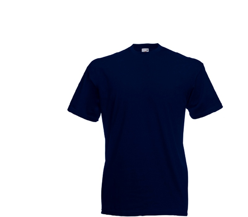Fruit Of The Loom Tričko VALUEWEIGHT T Deep Navy