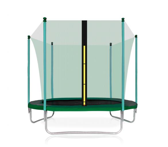 Aga SPORT FIT Trampolína 305 cm Dark Green + vnútorná ochranná sieť