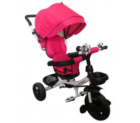 R-Sport Multifunkční tříkolka T4 White-Pink