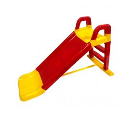 Aga4Kids Zjeżdżalnia z uchwytem 140 cm Czerwono-żółta