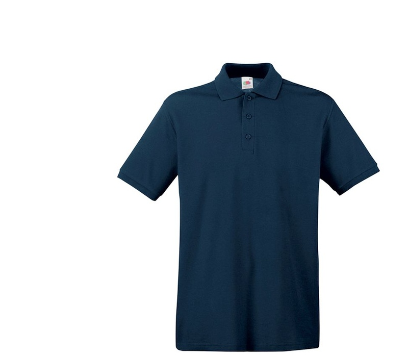 Fruit Of The Loom Tričko PREMIUM POLO Deep Navy