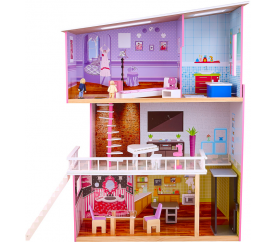 aGa4Kids Domek dla lalek TRACY