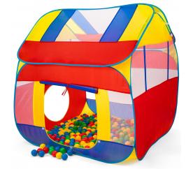 Kiduku gyerek játszóház labdákkal KZ-011