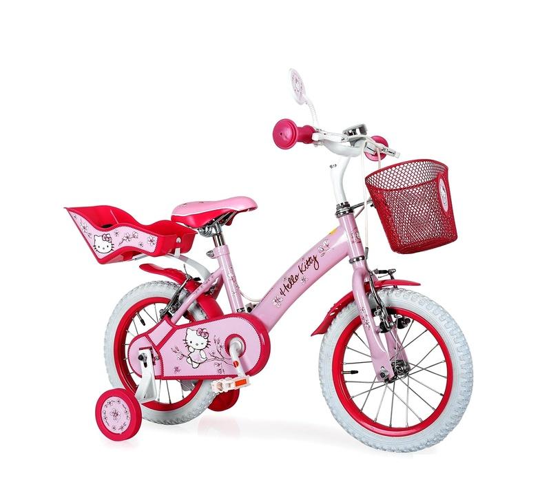 "Injusa Detský bicykel HELLO KITTY 12"" Pink 2017"