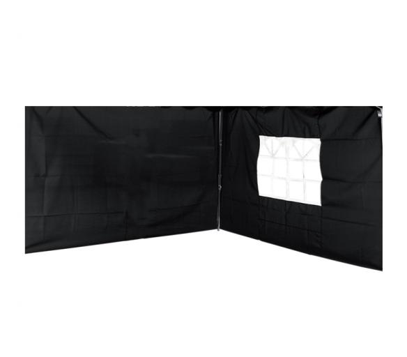 Linder Exclusiv Bočnice na altán ALU 3x3 m PO2466 Black