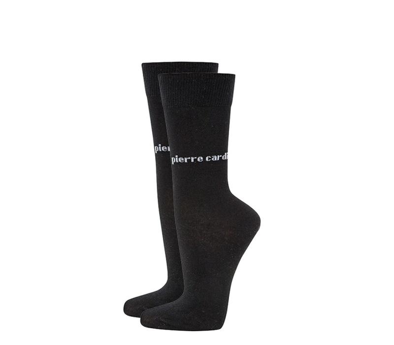 Pierre Cardin Ponožky 2 PACK Black