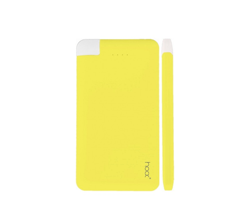Hoox Pure Love 4000 mAh Yellow
