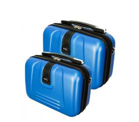 RGL Zestaw kuferków kosmetycznych 910 XL,L Blue