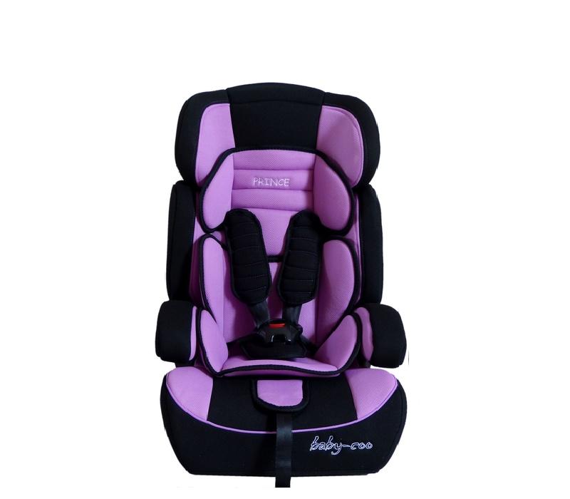 Baby Coo autosedačka PRINCE 2018 Black Violet